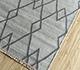 Jaipur Rugs - Flat Weave Wool and Viscose Blue SDWV-42 Area Rug Floorshot - RUG1100339