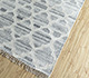 Jaipur Rugs - Flat Weave Wool and Viscose Ivory SDWV-50 Area Rug Floorshot - RUG1100349