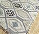 Jaipur Rugs - Flat Weave Wool and Viscose Ivory SDWV-51 Area Rug Floorshot - RUG1100350