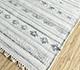 Jaipur Rugs - Flat Weave Wool and Viscose Ivory SDWV-56 Area Rug Floorshot - RUG1099803