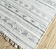 Jaipur Rugs - Flat Weave Wool and Viscose Ivory SDWV-56 Area Rug Floorshot - RUG1099890