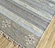 Jaipur Rugs - Flat Weave Wool and Viscose Beige and Brown SDWV-57 Area Rug Floorshot - RUG1099804