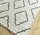 Jaipur Rugs - Flat Weave Wool and Viscose Ivory SDWV-62 Area Rug Floorshot - RUG1100360