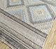 Jaipur Rugs - Flat Weave Wool and Viscose Beige and Brown SDWV-69 Area Rug Floorshot - RUG1100365