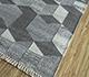 Jaipur Rugs - Flat Weave Wool and Viscose Blue SDWV-74 Area Rug Floorshot - RUG1100371