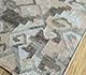 Jaipur Rugs - Flat Weave Wool and Viscose Grey and Black SDWV-77 Area Rug Floorshot - RUG1100375