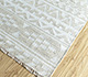 Jaipur Rugs - Flat Weave Wool and Viscose Ivory SDWV-83 Area Rug Floorshot - RUG1100379