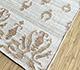 Jaipur Rugs - Flat Weave Wool and Viscose Ivory SDWV-85 Area Rug Floorshot - RUG1099878