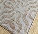 Jaipur Rugs - Flat Weave Wool and Viscose Beige and Brown SDWV-93 Area Rug Floorshot - RUG1100385