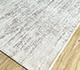Jaipur Rugs - Hand Loom Wool and Viscose Ivory SHWV-49 Area Rug Floorshot - RUG1099979
