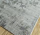 Jaipur Rugs - Hand Loom Wool and Viscose Grey and Black SHWV-53 Area Rug Floorshot - RUG1099939