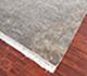 Jaipur Rugs - Hand Knotted Wool and Silk Grey and Black SKRT-813 Area Rug Floorshot - RUG1028377