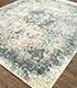 Jaipur Rugs - Hand Knotted Wool and Silk Blue SKRT-814 Area Rug Floorshot - RUG1077714