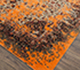 Jaipur Rugs - Hand Knotted Wool and Silk Red and Orange SKRT-814 Area Rug Floorshot - RUG1074166