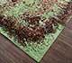 Jaipur Rugs - Hand Knotted Wool and Silk Beige and Brown SKRT-814 Area Rug Floorshot - RUG1076417