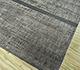 Jaipur Rugs - Hand Knotted Wool and Silk Grey and Black SLA-514 Area Rug Floorshot - RUG1090184
