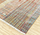 Jaipur Rugs - Hand Knotted Wool and Bamboo Silk Red and Orange SRB-701 Area Rug Floorshot - RUG1102655