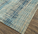 Jaipur Rugs - Hand Knotted Wool and Bamboo Silk Blue SRB-701 Area Rug Floorshot - RUG1088230