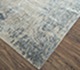 Jaipur Rugs - Hand Knotted Wool and Bamboo Silk Grey and Black SRB-703 Area Rug Floorshot - RUG1075090