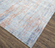 Jaipur Rugs - Hand Knotted Wool and Bamboo Silk Blue SRB-704 Area Rug Floorshot - RUG1074541