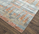 Jaipur Rugs - Hand Knotted Wool and Bamboo Silk Blue SRB-709 Area Rug Floorshot - RUG1077429