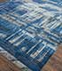 Jaipur Rugs - Hand Knotted Wool and Bamboo Silk Blue SRB-709 Area Rug Floorshot - RUG1075100