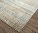 Jaipur Rugs - Hand Knotted Wool and Bamboo Silk Ivory SRB-715 Area Rug Floorshot - RUG1074129
