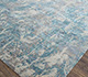 Jaipur Rugs - Hand Knotted Wool and Bamboo Silk Blue SRB-718 Area Rug Floorshot - RUG1074549