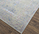 Jaipur Rugs - Hand Knotted Wool and Bamboo Silk Blue SRB-771 Area Rug Floorshot - RUG1074130