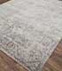Jaipur Rugs - Hand Knotted Wool and Bamboo Silk Grey and Black SRB-771 Area Rug Floorshot - RUG1074131