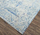 Jaipur Rugs - Hand Knotted Wool and Bamboo Silk Grey and Black SRB-771 Area Rug Floorshot - RUG1074112