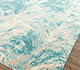 Jaipur Rugs - Hand Knotted Wool and Bamboo Silk Blue SRB-9001 Area Rug Floorshot - RUG1080655