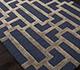 Jaipur Rugs - Hand Tufted Wool and Viscose Blue TAQ-229 Area Rug Floorshot - RUG1106856