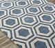 Jaipur Rugs - Hand Tufted Wool and Viscose Blue TAQ-378 Area Rug Floorshot - RUG1060990