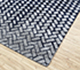 Jaipur Rugs - Hand Tufted Wool and Viscose Blue TAQ-400 Area Rug Floorshot - RUG1077471