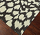 Jaipur Rugs - Hand Tufted Wool and Viscose Grey and Black TAQ-6051 Area Rug Floorshot - RUG1060790