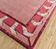 Jaipur Rugs - Hand Tufted Wool and Viscose Red and Orange TOP-107 Area Rug Floorshot - RUG1095350