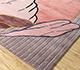 Jaipur Rugs - Hand Tufted Wool and Viscose Pink and Purple TOP-110 Area Rug Floorshot - RUG1095451