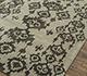 Jaipur Rugs - Hand Tufted Wool and Viscose Grey and Black TQR-4021 Area Rug Floorshot - RUG1076073