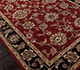 Jaipur Rugs - Hand Tufted Wool Red and Orange TRC-139 Area Rug Floorshot - RUG1025903