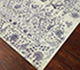 Jaipur Rugs - Hand Knotted Wool and Silk Ivory TX-503 Area Rug Floorshot - RUG1057777
