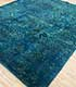 Jaipur Rugs - Hand Knotted Wool and Silk Blue TX-503 Area Rug Floorshot - RUG1084708