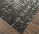 Jaipur Rugs - Hand Knotted Wool and Viscose Grey and Black YRH-703 Area Rug Floorshot - RUG1066106