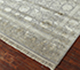 Jaipur Rugs - Hand Knotted Wool and Silk Grey and Black QNQ-10 Area Rug Floorshot - RUG1062116