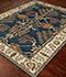 Jaipur Rugs - Hand Tufted Wool Blue TAC-966 Area Rug Floorshot - RUG1043677
