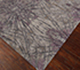 Jaipur Rugs - Hand Knotted Wool and Bamboo Silk Grey and Black ESK-400 Area Rug Floorshot - RUG1068961