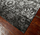Jaipur Rugs - Hand Knotted Wool and Bamboo Silk Grey and Black ESK-624 Area Rug Floorshot - RUG1068980