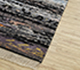Jaipur Rugs - Hand Knotted Wool and Bamboo Silk Beige and Brown LES-297 Area Rug Floorshot - RUG1084597