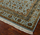 Jaipur Rugs - Hand Knotted Wool and Silk Blue QNQ-06 Area Rug Floorshot - RUG1055614