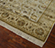 Jaipur Rugs - Hand Knotted Wool and Silk Beige and Brown QNQ-21 Area Rug Floorshot - RUG1045921